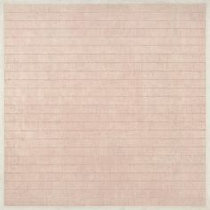 Agnes Martin | Flower in the Wind (1963) | Artsy
