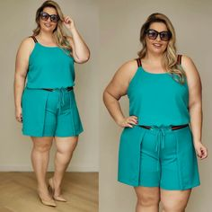 Mono Jumpers For Women, Blouses For Women, Pants For Women, Plus Size Fashion, Curvy Women Fashion, Womens Fashion, Curvy Outfits, Plus Size Outfits, Women's Fashion Dresses