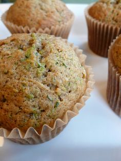 Zucchini Bread/Muffins | Feeding My Folks- so delicious. My kids and brother gobbled them up.