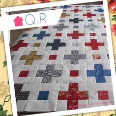 Monique Hamelinck Adams created this lovely quilt for her oldest son's graduation!