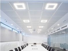Plafon LED com luz direta FLAT | Luminária de teto LED - PANZERI