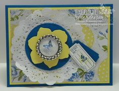 Spring 2013 Catalog..new products! Soda Pop Tops, Collage Curious & Tea for Two Designer Paper. Debbie Henderson, Debbie's Designs.