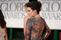 Lea Michele French Twist