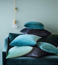 Velvet cushion cover #HMHome