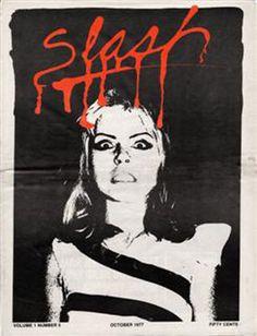 Slash Magazine cover with Debbie Harry??