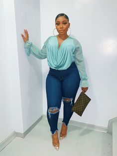 """""""Things are a little different these days. Thick Girls Outfits, Curvy Girl Outfits, Dope Outfits, Classy Outfits, Stylish Outfits, Plus Size Outfits, Fashion Outfits, Winter Fashion, Thick Girl Fashion"""