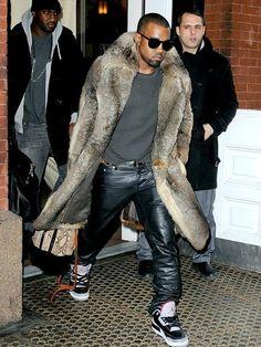 Fur coat and a bad bitch