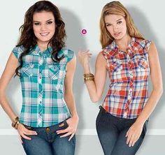 Resultado de imagen para blusas de tela juveniles
