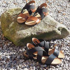 Ny lækker skindsandal med fantastisk fitting👏  #ss17 #newin #allleather #superfitting #sandals #komsolkomsommer #biancoherning #herningcity