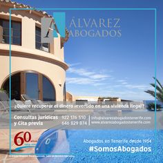 Ya puede recuperar su dinero en caso de comprar un inmueble con ilegalidades urbanísticas. http://alvarezabogadostenerife.com/?p=10806 #SomosAbogados