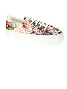 Best for a Garden Party: ASOS DINO Flatform #Sneakers, $33.94; asos.com