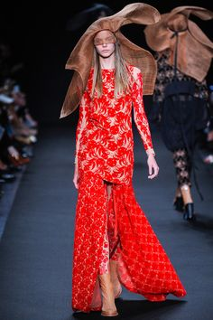 Ann Demeulemeester Spring 2014 Ready-to-Wear Collection Slideshow on Style.com  Seeing Red