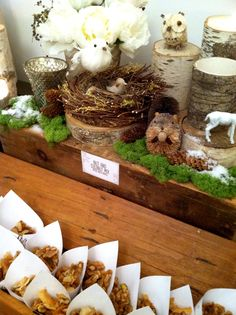 Winter woodland party