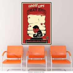 Water Cooler Office Propaganda Wall Decal
