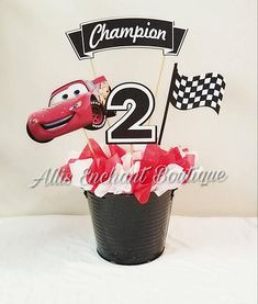 Disney Cars Birthday Party Ideas Decoration Daughters 20 Ideas For 2019 Disney Cars Party, Disney Cars Birthday, Cars Birthday Parties, 4th Birthday, Cars Birthday Invitations, Cars Movie Characters, Movie Cars, Car Centerpieces, Cars Party Favors
