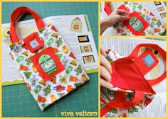Love this cute Babyville project from www.vivaveltoro.com