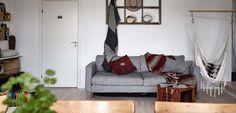 Apartamento en estilo boho chic - http://www.decoora.com/apartamento-estilo-boho-chic/