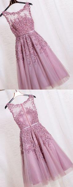 Tea Length bridesmaid dresses,lace Evening Gown Party dresses,Short Burgundy…                                                                                                                                                                                 More