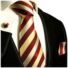 Maroon and Gold Striped Silk Necktie – Paul Malone Wedding Suits, Trendy Wedding, Maroon Wedding, Wedding Ideas, Wedding Dresses, Gold Tie, Tie And Pocket Square, Pocket Squares, Mens Silk Ties