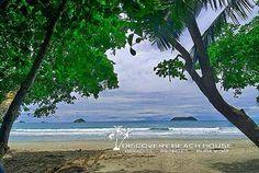 beach and island view #ParadiseAwaits