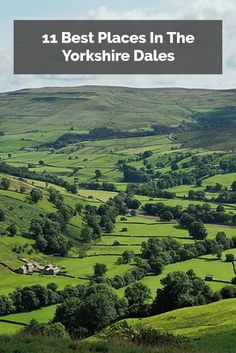 The Yorkshire Dales, in the north of England, is a favorite of walkers, tourists and locals alike. Here are 11 of our favorite spots in this rugged, beautiful area.