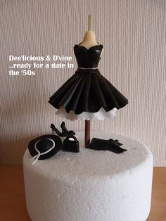 Little Black Dress looking for a cake......