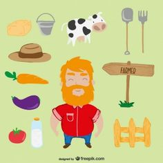 Farm cartoon pack
