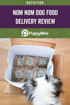 Thinking about trying the Nom Nom dog food delivery service? Read our review first to learn more about the company, the dog food, shipping, and much more. Dog Food Delivery, Meal Delivery Service, Beef And Potatoes, Pet Health, Dog Food Recipes, Your Pet, Nom Nom, Nutrition, Dogs