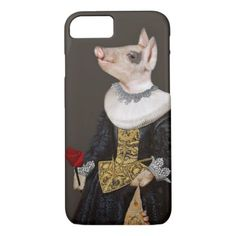 The Queen of Bling Piglet iphone8/7 Case - rose style gifts diy customize special roses flowers