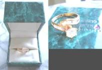 Suzanne Somers Created Diamond CZ Ring Size 7