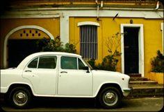 Wander the French Quarter of Pondicherry, India.