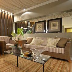Ambiente da Mostra Officina Interiores! Salas, Rooms