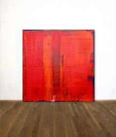 Rothko Hommage in RED Large Abstract Acrylic Painting Contemporary Abstract Art, Modern Art, Red Abstract Art, Tachisme, Picasso Paintings, Acrylic Paintings, Painting Art, Oeuvre D'art, Landscape Art