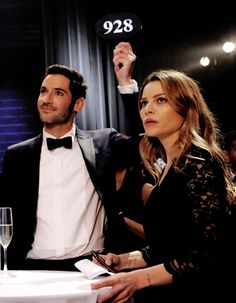 Lucifer - Promotional Still Episode 1.07 - Wingman airing Monday, March 7 (9:01-10:00 PM ET/PT) on FOX.