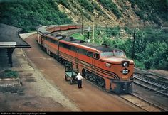 Lehigh Valley's flagship passenger train The Black Diamond ran between New York City and Buffalo until when the LV's passenger service was reduced to mainline trains a day. The John Wikes and The Maple Leaf lasted until February Abandoned Houses, Abandoned Places, Abandoned Castles, Abandoned Mansions, Locomotive, Jim Thorpe, Heritage Railway, Train Truck, Pennsylvania Railroad