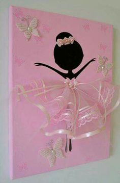 Ballerinas canvas