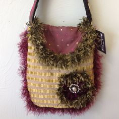 VLR Designs Handmade Italian Velvet Bags available at I'm Just Sayin Gifts at Broadway & Waterloo in Edmond OK