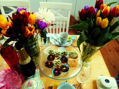 Easter lunch with champagne <3