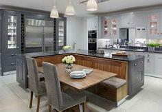 серая кухня серый в интерьере