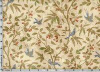 Tim Holtz Fabric: Eclectic Elements Wallflower, Birds