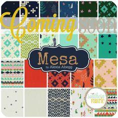 Mesa - Fat Quarter Bundle (4999-7) by Alexia Abegg for Cotton Steel