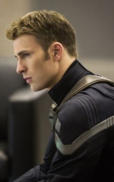 Chris Evans-Captain America/Steve Rogers <3 anxiously awaiting the second movie!