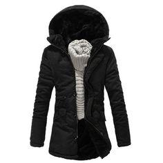 Mens Furry Long Hooded Jacket Hooded Jacket, Jacket Men, Winter Coat, Warm  Coat 982ec67e87