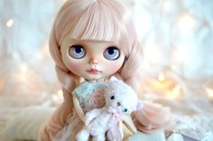 SOLD OUT Custom Blythe Doll OOAK Candy Xmas by MaPoupeeCherie