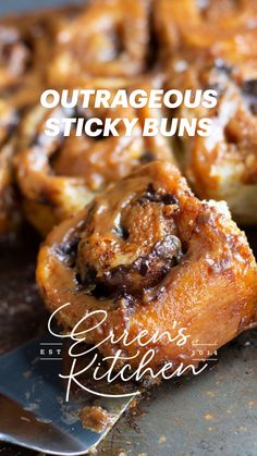 Bakery Recipes, Cooking Recipes, Best Breakfast, Breakfast Recipes, Sweet Buns, Artisan Chocolate, Sticky Buns, Desert Recipes, Fun Desserts
