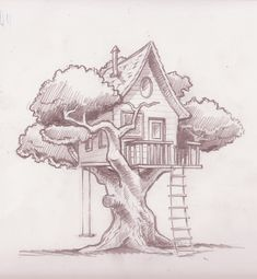 tree house drawnings - Yahoo Search Results
