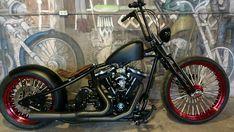 Harley Dyna, Harley Bobber, Harley Bikes, Harley Davidson Bikes, Yamaha Bolt Custom, Custom Sportster, Custom Bobber, Cb750 Bobber, Bobber Bikes