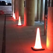 Image Result For Diy Traffic Cones Lamps