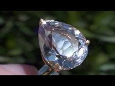Champagne Topaz 11.70ct  22ct Gold Ring