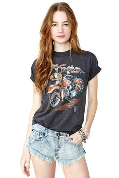36872f798 Harley Davidson Forever Tee Tour T Shirts, Vintage Tees, Vintage Harley  Davidson Shirt,